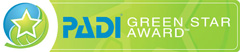 PADI - Green Star Award