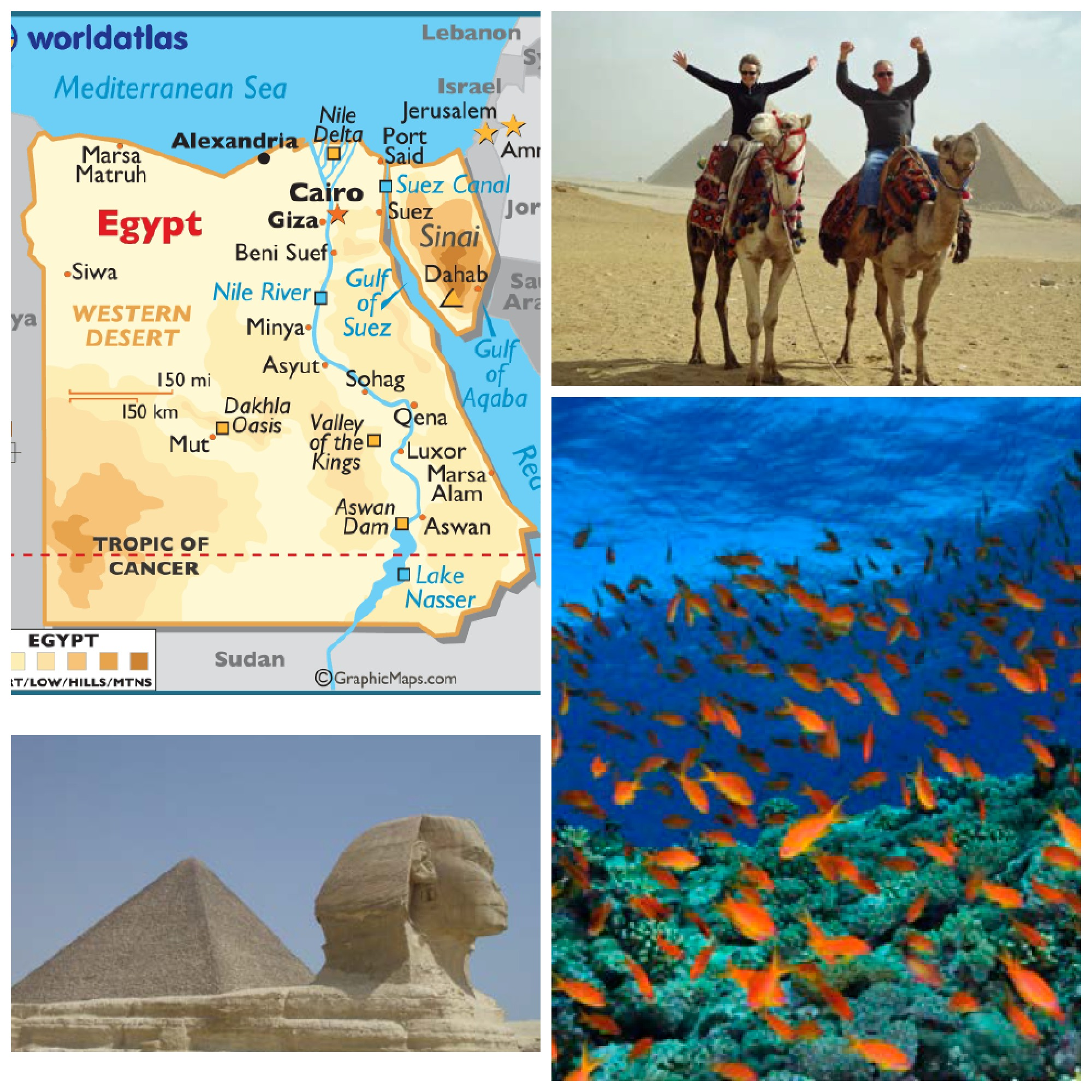 EGYPT COLLAGE